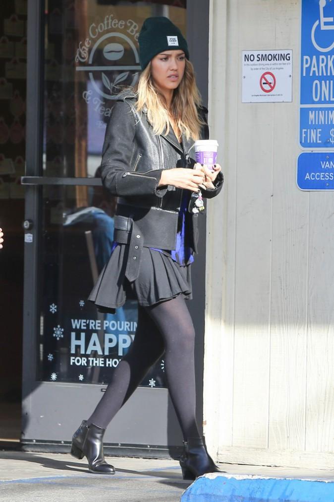 Jessica Alba le 14 décembre 2014