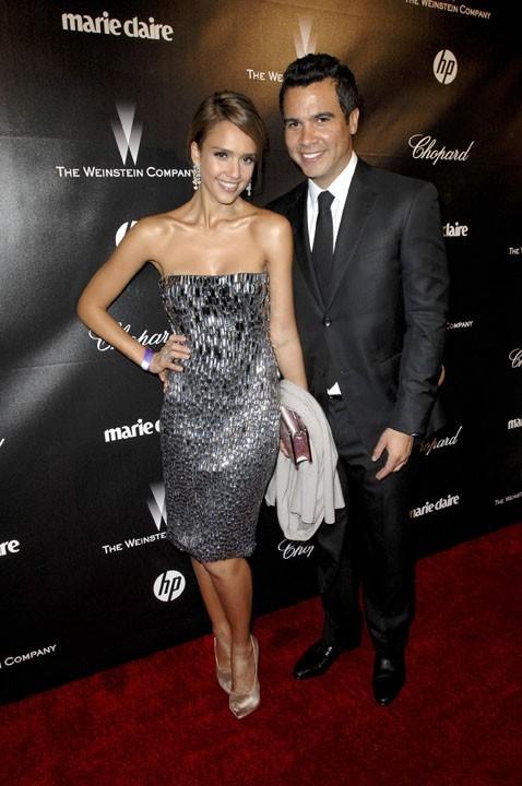 Avec Cash Warren, visiblement fier de sa femme !