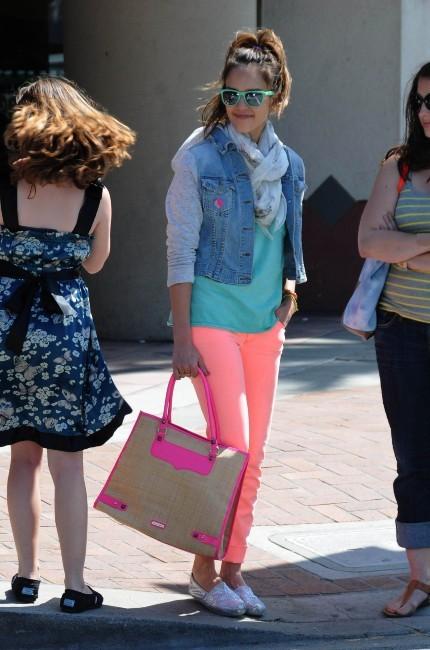 Jessica Alba à Los Angeles, le 22 mai 2012.