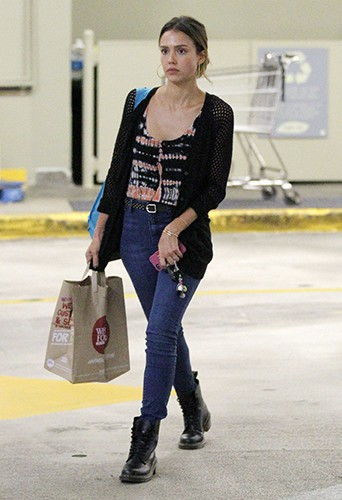 Jessica Alba à Los Angeles le 8 août 2014