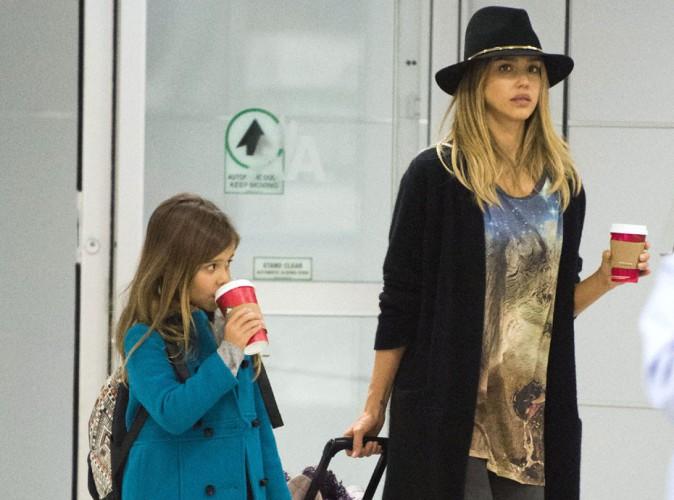 Jessica Alba : voyage entre filles avec son adorable mini-moi Honor Marie !