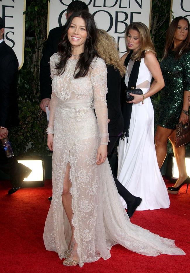 Virginale aux Golden Globes 2012