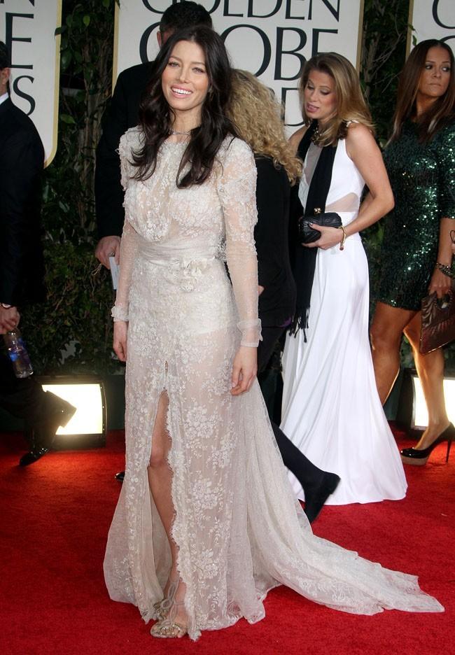 Virginale aux Golden Globes 2012