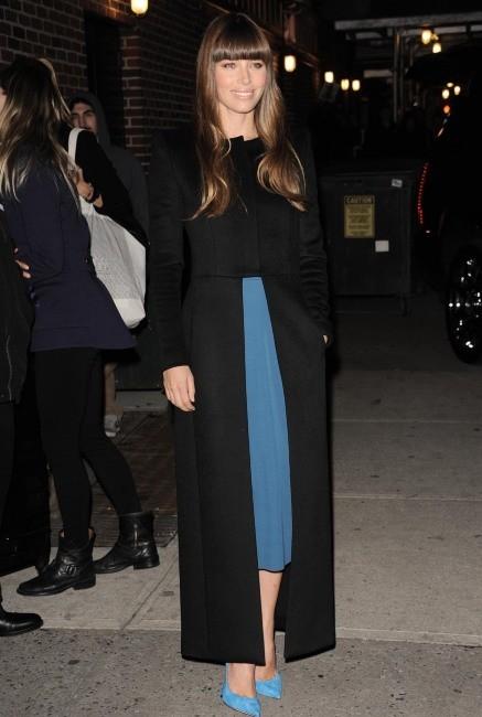 Jessica Biel le 19 novembre 2012 à New York