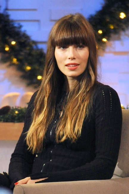 Jessica Biel sur le plateau de l'émission Good Morning America à New York, le 4 décembre 2012.