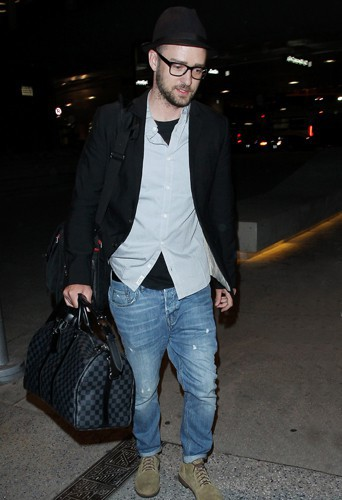Justin Timberlake à Los Angeles le 26 mars 2014