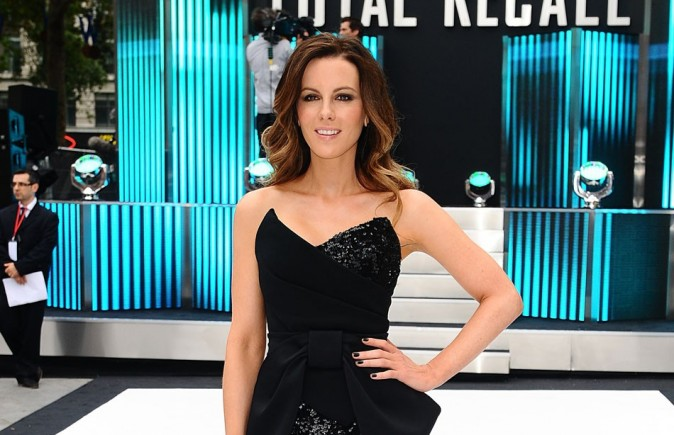 Kate Beckinsale le 16 août 2012 à Londres
