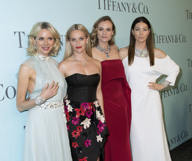 Photos : Naomi Watts, Reese Witherspoon, Diane Kruger, Jessica Biel assistent au gala Tiffany's !