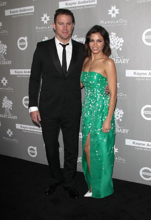 Jenna DEwan et Channing Tatum à Los Angeles, le 14 novembre 2015