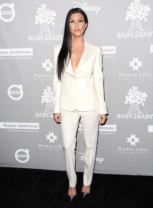 Kourtney Kardashian à Los Angeles, le 14 novembre 2015