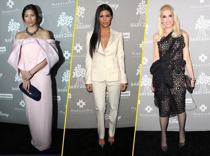 Jessica Biel, Kourtney Kardashian, Gwen Stefani... des mamans ultra m�diatis�es pour la bonne cause