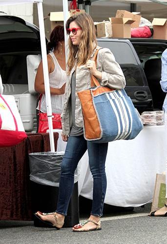 Jessica Biel à Studio City le 28 juillet 2013