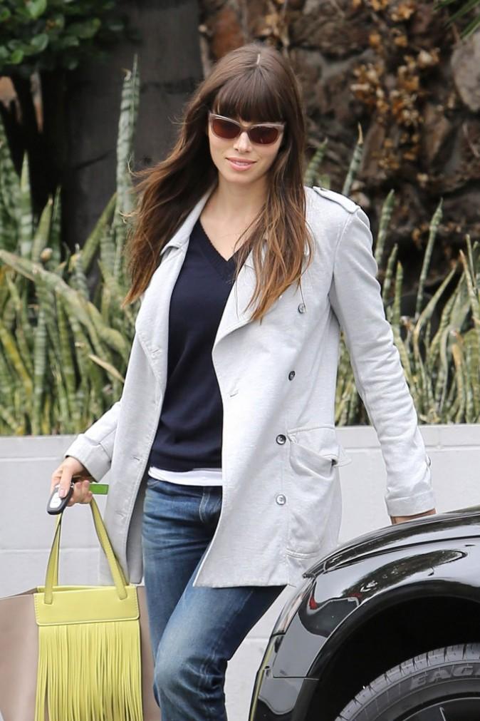Jessica Biel à West Hollywood, le 4 juin 2012.