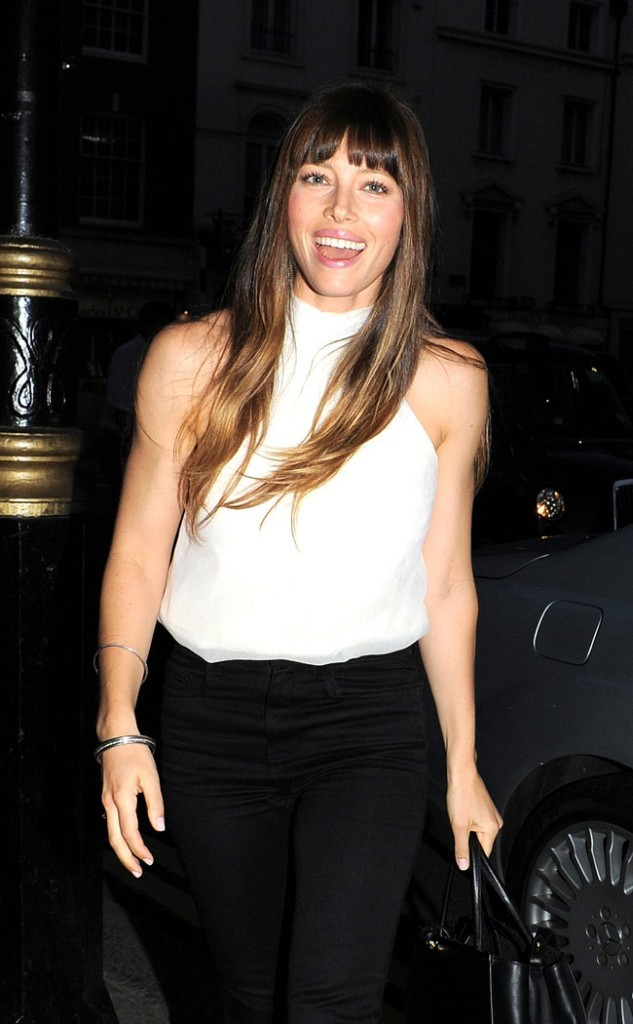 Jessica Biel le 15 août 2012 à Londres