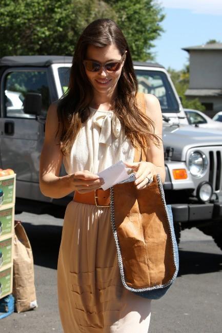 Jessica Biel à los Angeles, le 23 mai 2012.