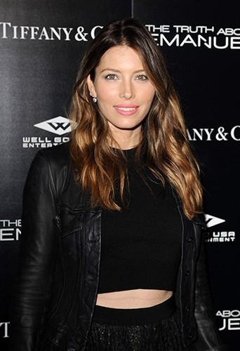 Jessica Biel à Los Angeles le 4 décembre 2013