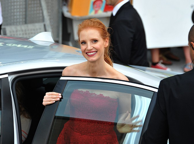 Jessica Chastain à Giffoni Valle Piana le 21 juillet 2013