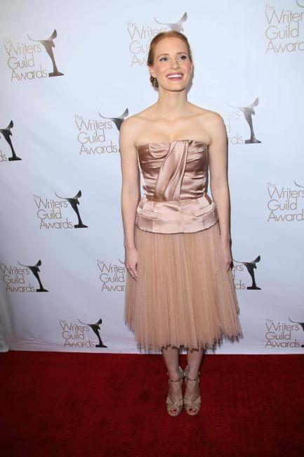 Jessica Chastain le 17 février 2013 à Los Angeles