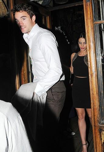 Jessica Lowndes et Thom Evans à Londres le 4 juillet 2013