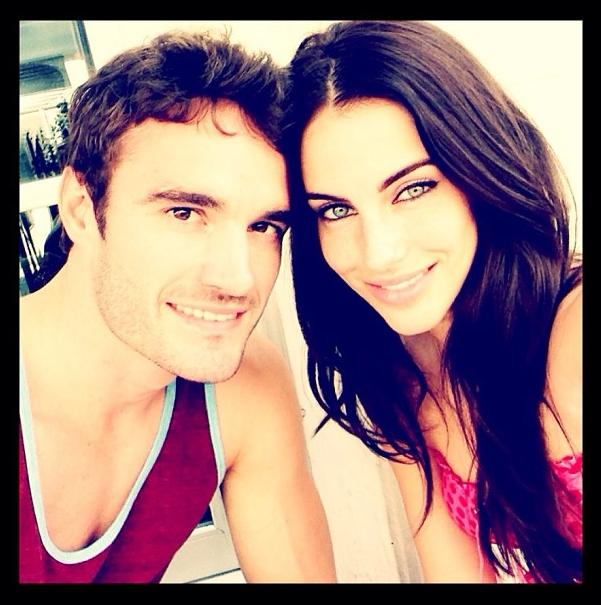 Jessica Lowndes et Thom Evans, amoureux sur Instagram