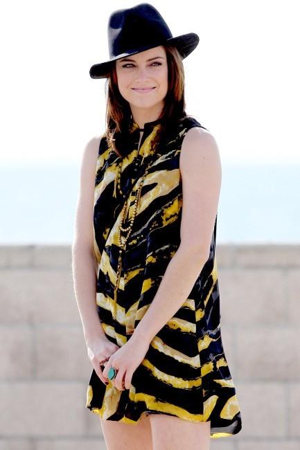 Jessica Stroup, Los Angeles, 14 décembre 2012.