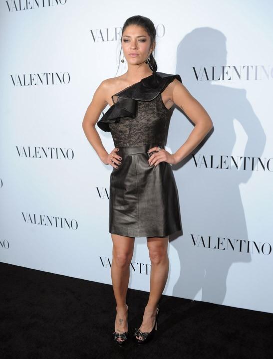 Jessica Szohr chez Valentino !