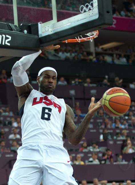 n°10 : LeBron James