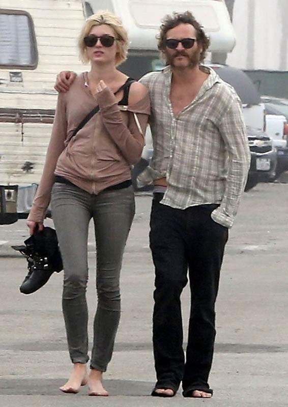 Joaquin Phoenix méconnaissable dans les rues de Venice !