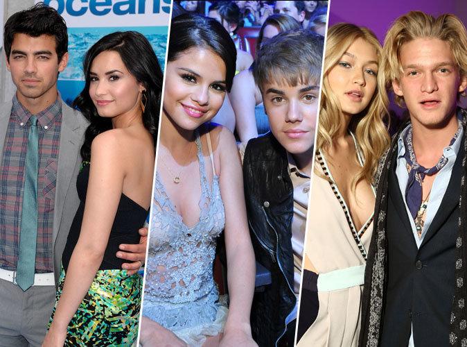 Joe Jonas et Demi Lovato, Justin Bieber et Selena Gomez... ces 9 ex-couples qui sont restés bons amis !