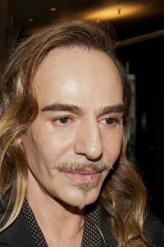 John Galliano le 4 février 2013 à Paris