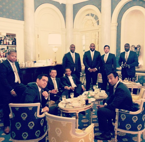 John Legend et ses amis !