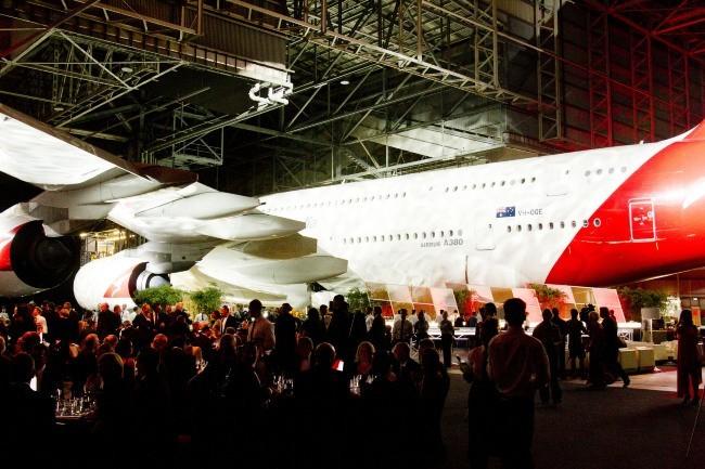 Une soirée placée sous le signe de l'aviation !