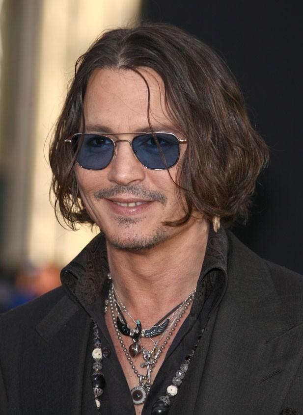 Johnny Depp à l'avant-première de Dark Shadows le 7 mai 2012