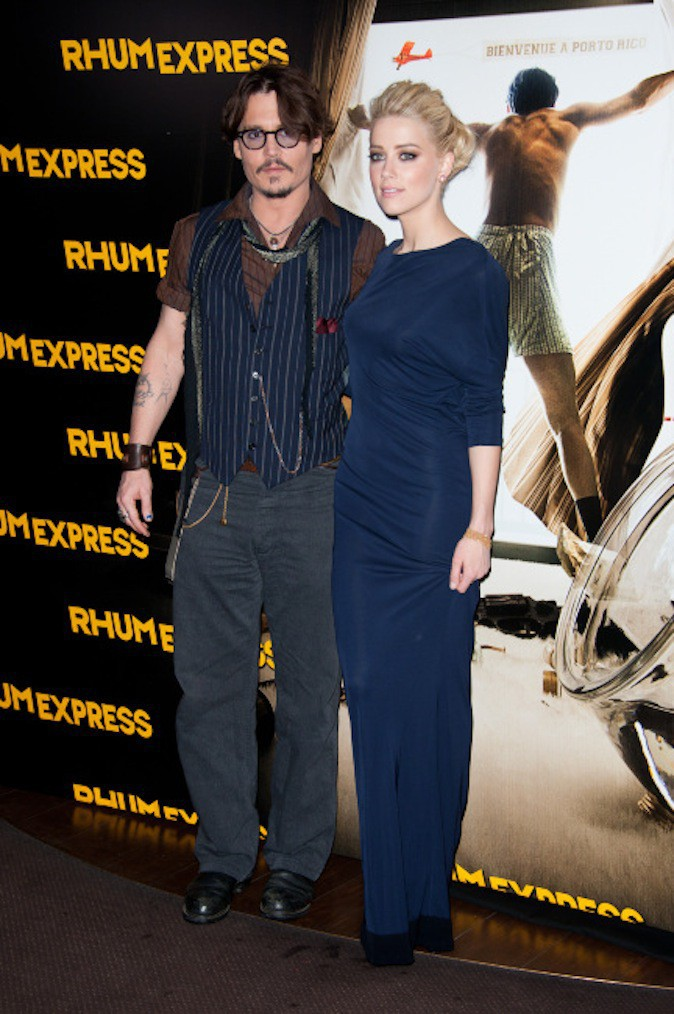 Johnny Depp serait fiancé à l'actrice Amber Heard !