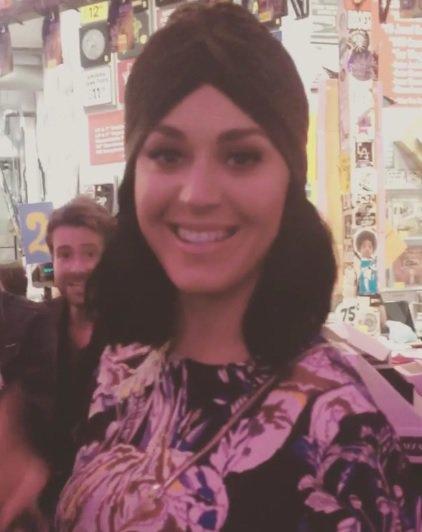 Katy Perry était aussi de la partie