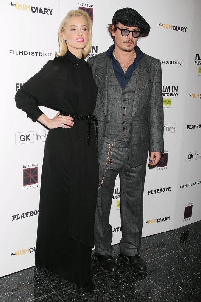 Photos : Johnny Depp et Amber Heard : 15 mois d'un mariage raté que l'on croyait plus fort que tout !
