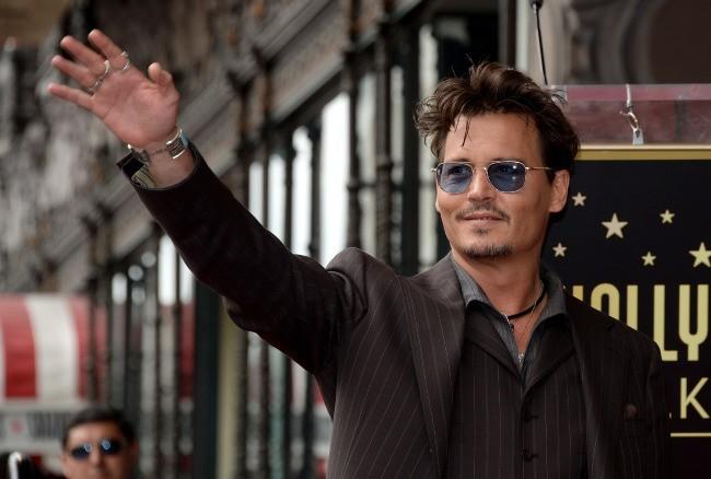 Johnny Depp le 24 juin 2013 à Los Angeles