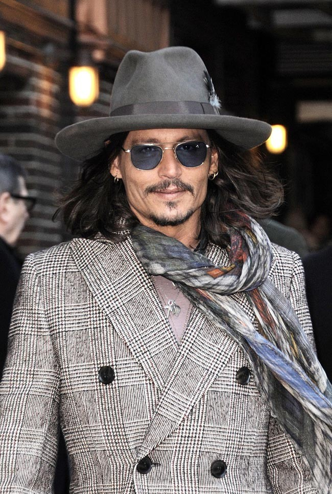 Johnny Depp le 21 février 2013 à New York