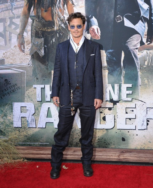 Johnny Depp le 22 juin 2013 in Anaheim, en Californie