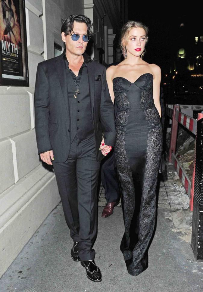 Johnny Depp et Amber Heard : ils filent en douce par la porte de derrière !