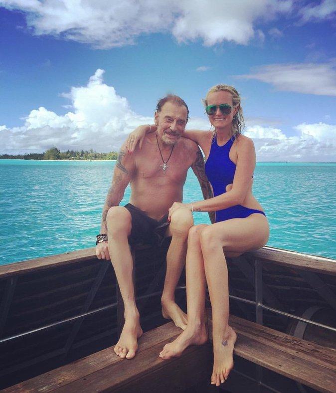 Johnny et Laeticia en vacances