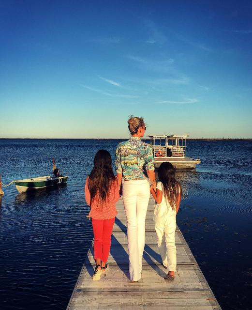 Laetitia Hallyday adore ses filles