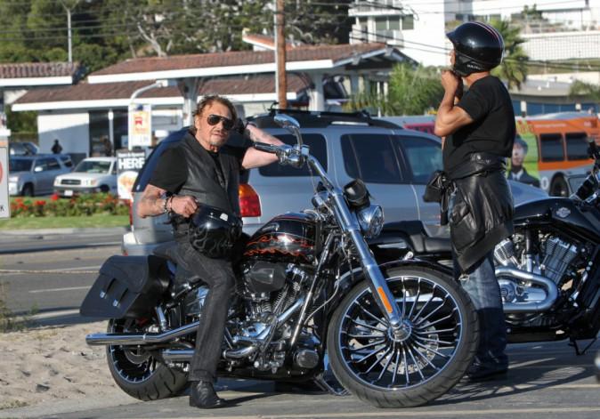 Photos : Johnny Hallyday : alerte aux gros bisous à Malibu !