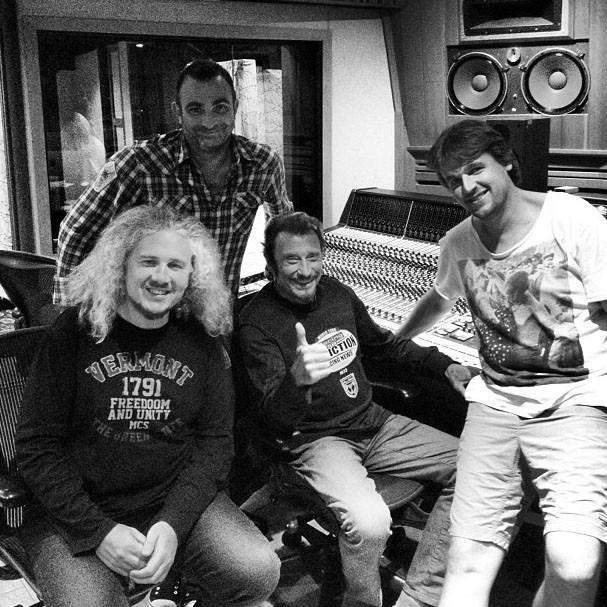 Johnny de retour en studio