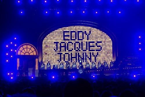 Photos : Johnny Hallyday, Jacques Dutronc, Eddy Mitchell : Les Vieilles Canailles survoltées !