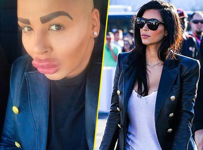 Jordan James Parke copie Kim Kardashian !