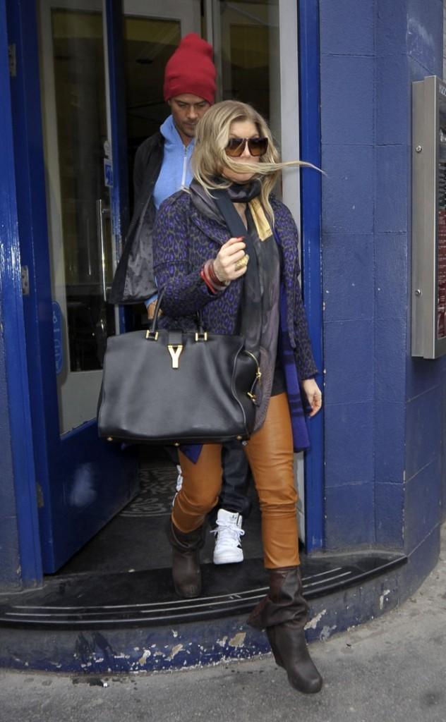 Fergie et Josh Duhamel à Londres le 21 février 2013