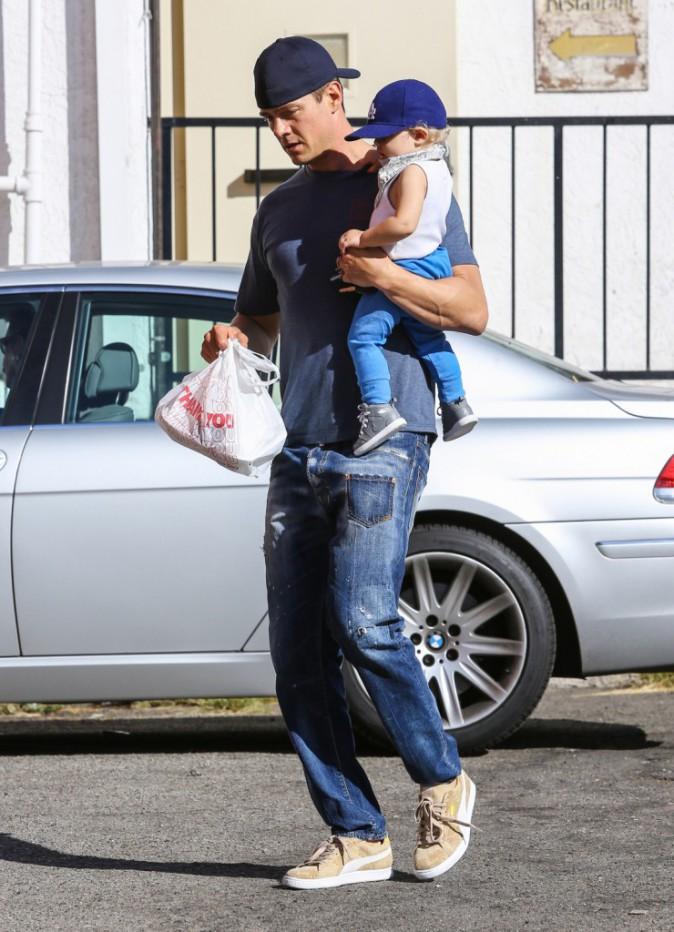 Photos : Josh Duhamel et Axl Jack : tel père, tel fils !