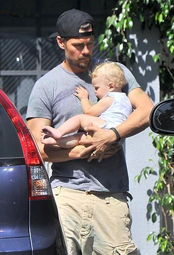 Josh Duhamel à Los Angeles le 13 juillet 2014