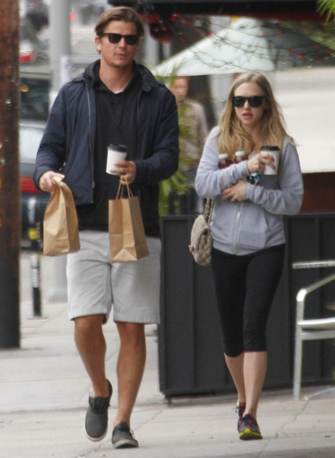 Josh Hartnett et Amanda Seyfried dans les rues de Los Angeles